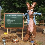 Rabbit Scarecrow