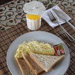 Breakfast at home stay