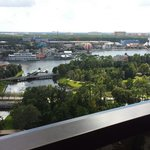 View of Downtown Disney from our balcony