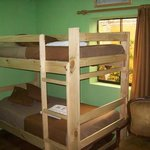 Room 1 Bunk Bed with Matrimonial bed shared bathroom