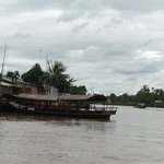 tour boat on the Mekong