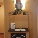 Kids Check-In Area