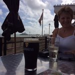 Drinks with sea view