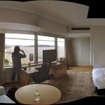 From the room