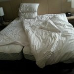King bed is two small beds