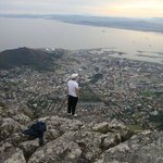Contemplating the city of Cape Town