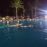 soirée pool party....