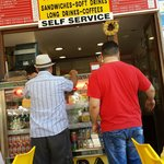 You can eat cheap in Rhodes town in the marketplace go here big fat sarnies €2 put your feet up