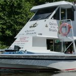 This is a sister boat to the one we were on from Wroxham.