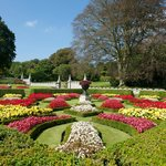 Part of the gorgeous formal garden