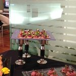Catering at the Yorkville Club member event