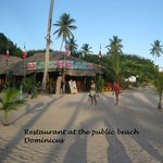 Public beach of Dominicus at Bayahibe Foto
