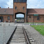 Approach to Auschwitz 2 Birkenau