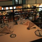 The dining room from one of the upper level balcony tables