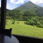 View of Arenal Volcano from 515's back porch