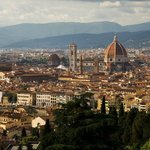 View from the walk to Piazzale Michelangelo