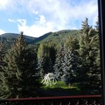 View from the Tivoli Lodge Room, Vail, CO
