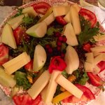 Salade aux fromages