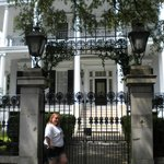 In front of the house used in American Horror Story season 3!