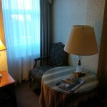 nice bright little corner for reading and relaxation