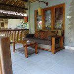 Verandah poolside room