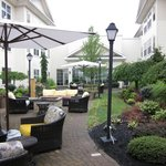 Enclosed outdoor patio