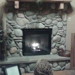 Fireplace in our room (oil)