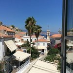 View of Hydra from hotel room