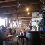 The cosy little mountain top restaurant