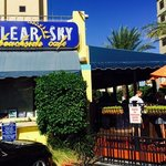 Clear Sky Beachside Cafe Foto