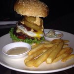 Down under burger ! To die for.