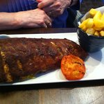 Rack of ribs - evening meal