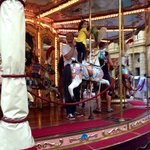 Carousel 2 minutes walk from hotel