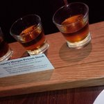 SHOTS of spiced rum