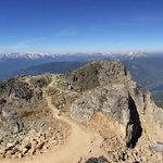 A panorama from Whistler