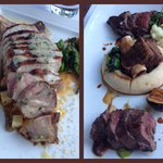 Pork Chop and Meat Trio