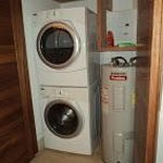Washer/dryer in 2-bed suite