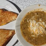 Green Chili and Grilled Cheese