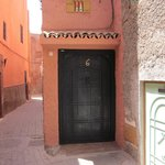 Door to Riad Miski