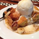 Bread Pudding with Banana's Foster
