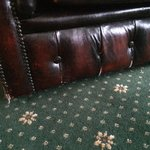 Sofa was falling apart and very worn. Certainly not worth the 'luxury suite' price tag.