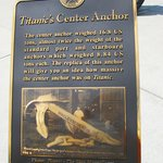 Titanic's Center Anchor weighed 16.8 tons