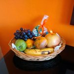 Lovely Fruit & Chocolates Welcome Basket