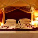 Our romantic bed