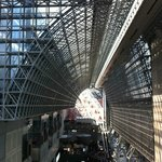 A view of Kyoto Station