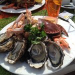 Belle assiette de fruits de mer a 29€