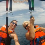 Parasailing in Cabo!!