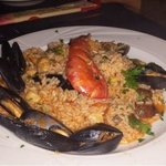 seafood risotto - order must be for 2 persons but this pic was one serve so very substantial mea