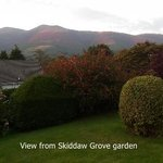 View from Skiddaw Grove Garden