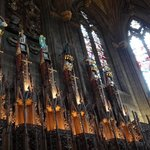Inside the Thistle Chapel